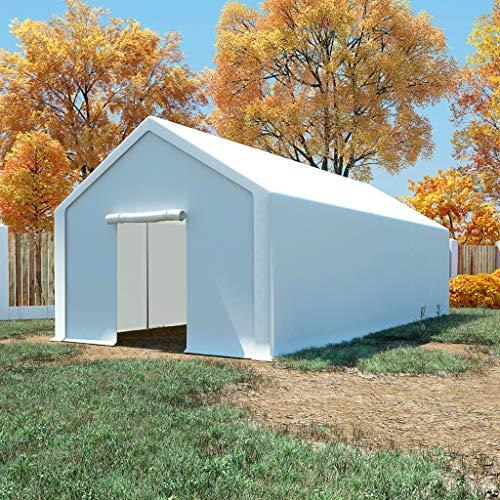 SKM Storage Tent PE 4x8 m White-5262