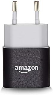 Amazon 5 W USB-originalladdare och nätadapter (kompatibel med de flesta enheter inklusive surfplattor, läsplattor, mobiler...