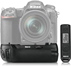 Meike Professional Vertical Battery Grip Built-in 2.4GHz MK-D500 Pro for Nikon D500 as MB-D17 with Wireless Remote Control