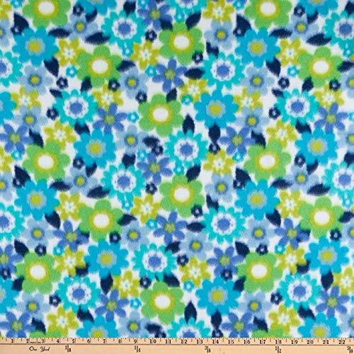 Newcastle Fabrics Polar Fleece Bianca Fabric, Parrot, Fabric By The Yard