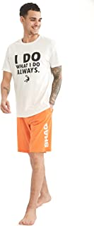 DeFacto U9275AZ Shaquille O'Neal Lisanslı Regular Fit Pijama Takımı Erkek