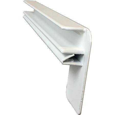 Fensterbank Putz Seitenteile 70 mm in Wei/ß
