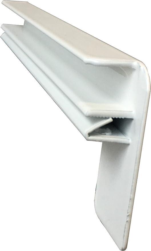 Ohne Seitenteile Fensterbrett 280 mm Tief Wei/ß Fensterbank 1200 mm Lang