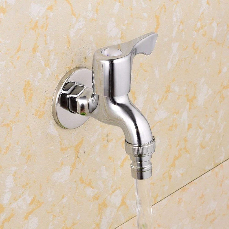 FERZA Home Waschbecken-Mischbatterie Badezimmer-Küchen-Becken-Hahn auslaufsicher Wasser sparen Kupfer-Einzelner kalter Beweis Anti Rissbildung