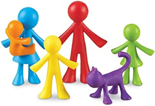 Learning Resources All About Me Family Counters, Assorted Colors and Shapes, Set of 72, Ages 3+