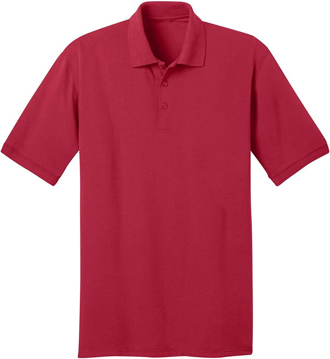 Port & Company - 5.5-Ounce Jersey Knit Pocket Polo Shirt. KP55P - XXX-Large - Red