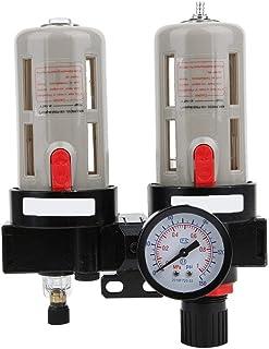 G3/8 inch compressed air water cutter, BFC-3000 oil water pressure regulator pressure regulator filter for compressed air compressor, air compressors accessories oil separator and water separator