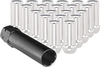 CECO Chrome Duplex Spline Drive Tuner Installation Kit (32 Lug Nuts & 1 Key) 14mm x 1.50 R.H. Thread Pitch