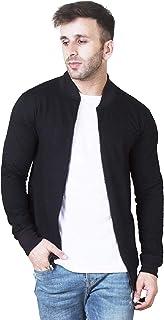Veirdo Men's Cotton Regular Fit Jacket for Men