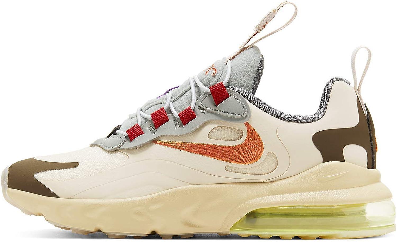 Nike Preschool Air Max 270 React Ps Travis Scott - Cactus Trails Cv2414 200 Size