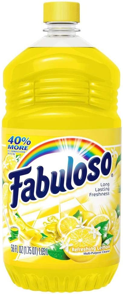 Fabuloso Use RTU (56 oz.) Multi Purpose Cleaner, 56 Fl Oz (Pack of 1), Yellow