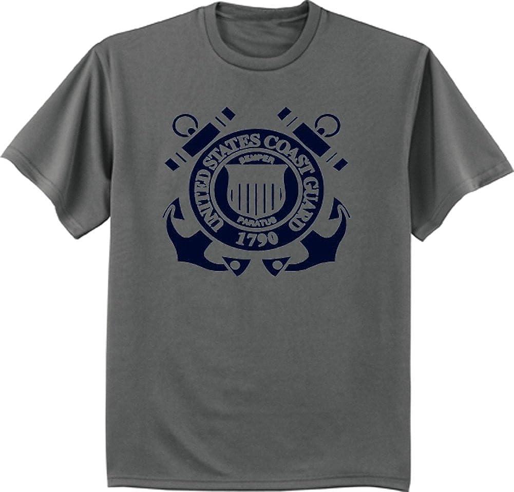 Big and Tall t-Shirt US Coast Guard tee