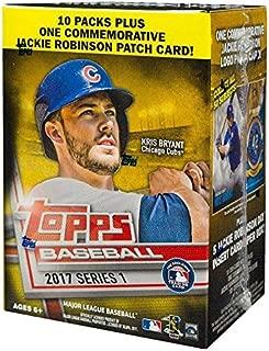 Topps MLB All Teams 2017 Series 1 Baseball Blaster Box, Black, Small