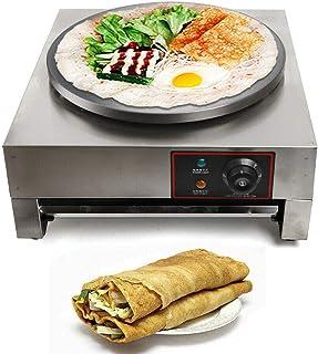 RANZIX 2,8 KW 40 cm elektrisk Crepe Maker elektrisk pannkaka Crepe tillverkare crepesmaskin nonstick platta tillbehör