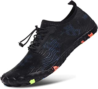 L-RUN Unisex Wading Shoes Outdoor Mutifunctional Sports Breathable Mesh Casual Flat-Heeled