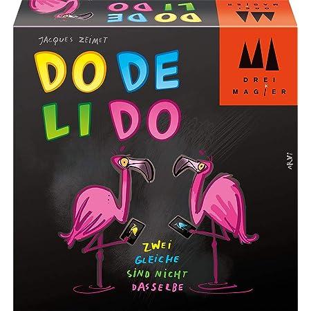 Schmidt Spiele 40879 Dodelido, Drei Magier Kartenspiel