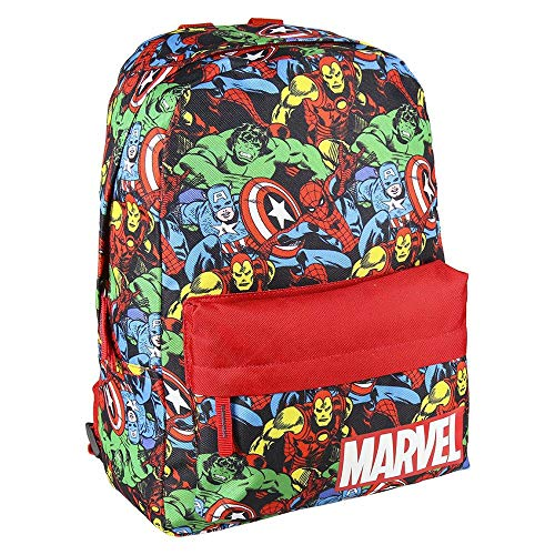 CERDÁ LIFE'S LITTLE MOMENTS Mochila Infantil Estamapada The Avangers - Licencia Oficial Marvel Studios, multicolor