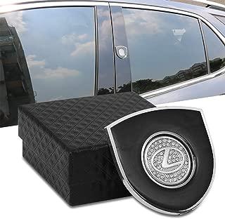 Car Emblem Sticker for Lexus, Metal Crystal Emblems Decorative Decals of Car Logo Shield Badge