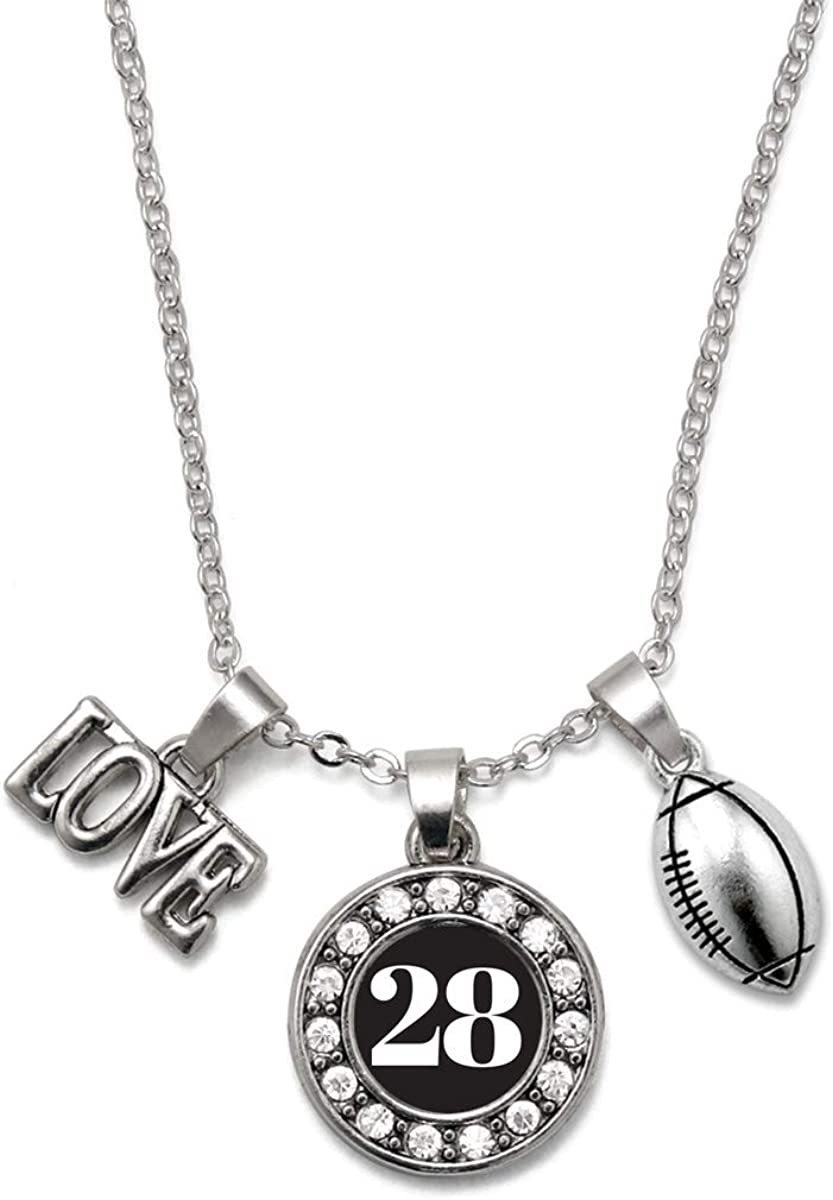 Inspired Silver - Circle Charm Necklace Large-scale sale Inch Cubi 18 with Reservation