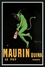 Framed Wall Art Print Maurin Quina, 1920 ca by Leonetto Cappiello 25.25 x 37.25