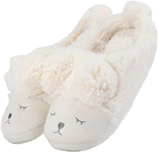 3a004077c49 GaraTia Warm Indoor Slippers for Women Fleece Plush Bedroom Winter Boots