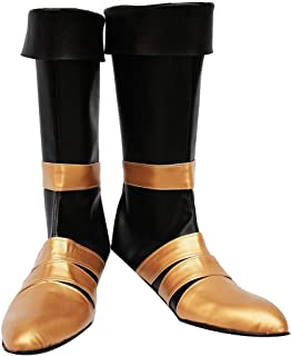 Telacos Dirge of Cerberus : Final Fantasy VII FF7 Vincent Valentine Cosplay Shoes Boots Custom Made