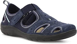 11ee67f81d6f Earth Spirit Womens Navy Leather Sport Casual Shoe