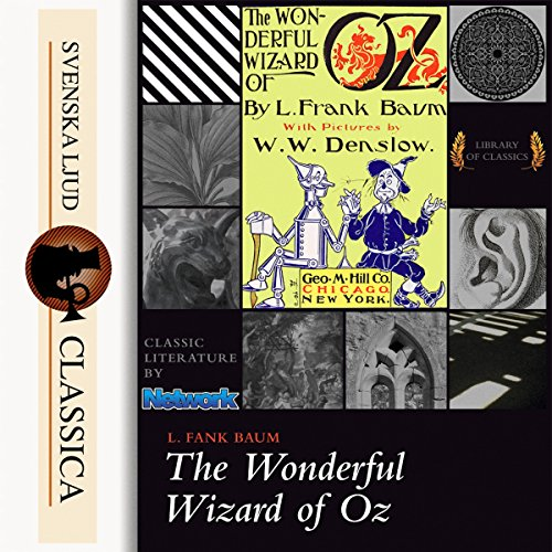 The Wonderful Wizard of Oz (Land of Oz 1) audiobook cover art