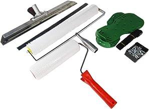 MXBAOHENG Zelfnivellerende Cement Tool Kit Roller Spiked Schoenen RVS Schraper Vloer Bouw Gereedschappen