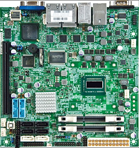 Supermicro Motherboard Mini ITX DDR3 1600 NA Motherboards X9SPV-LN4F-3QE-O