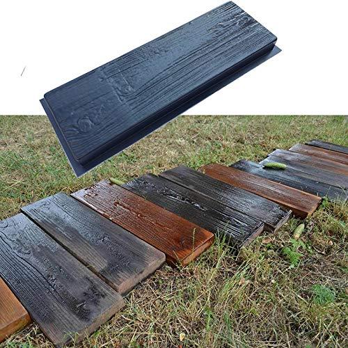 NO LOGO 2ST ABS Pflaster Mold Dekorative Boden Textur Pfad PathMate Auffahrt Pavement Backstein Garten Gebäude Gehen Hersteller-Form 63X23X5CM