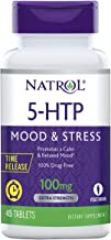 Natrol 5-HTP Time Release tablets, Promotes a Calm Relaxed Mood, Helps Maintain a Positive Outlook, Enables Production of ...
