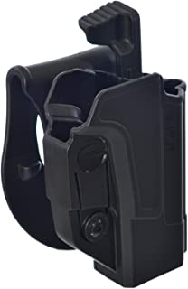 Orpaz Defense Retention Tactical Thumb Release Safety Holster Tention Adjustment Rotating Paddle for All Smith Wesson S&W M&P 9mm .40cal .22cal & .45cal M&P M2.0 in 9mm .40cal & .45cal SD9 SD40 SD9VE