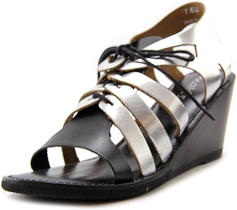 Matisse Begin Women US 8.5 Black Wedge Sandal