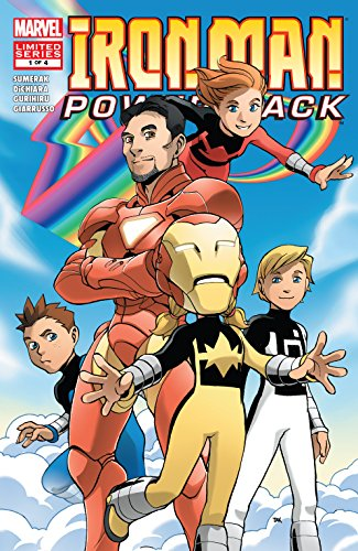 Iron Man and Power Pack (2007-2008) #1 (of 4) (English Edition ...