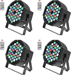 colored stage lights