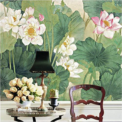 Stijlvol fotobehang om zelf te maken, Chinese stijl, 3D-bloemen, fotobehang voor slaapkamer, studio, kinderen 300x210cm