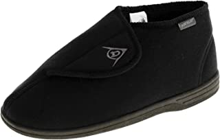 Dunlop Mens Adjustable Touch Fastening Orthopaedic Boot Slippers