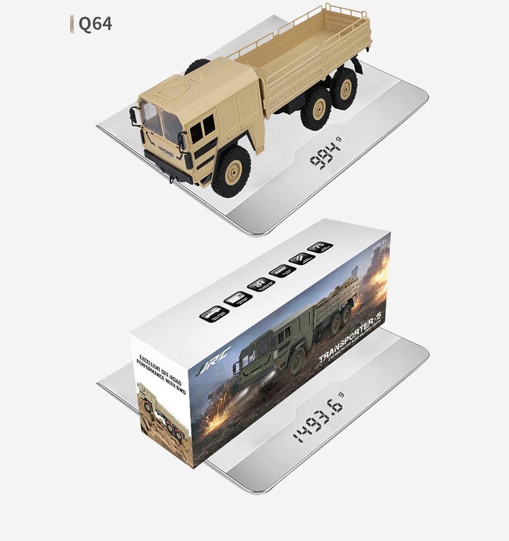 mejor opcion SLONG Seis Seis Seis Ruedas de Control Remoto de la Tarjeta Militar suspensión vehículo Todoterreno 6 Unidad de simulación Militar Modelo 1 16 Juguetes para Niños  a la venta