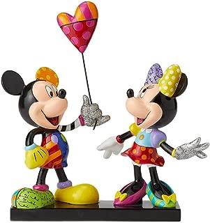 Enesco Disney by Britto Mickey and Minnie Collectible Figurine