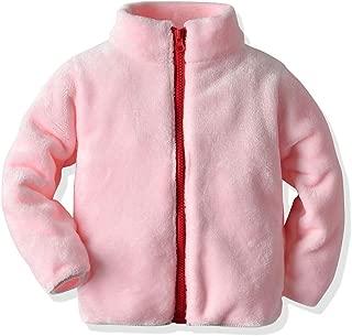 Joycebaby Toddler Girls' Boys' Full-Zip Fleece Jacket