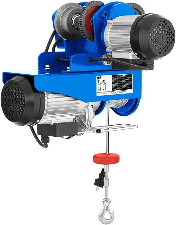 Paranco - carico fino a 800 kg msw motor technics - procat 800 6013