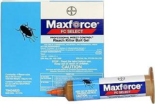 Maxforce FC Select Roach Killer Bait Gel, 4 30-Gram Tubes