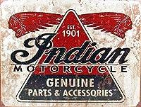 インドのオートバイ部品 金属板ブリキ看板警告サイン注意サイン表示パネル情報サイン金属安全サイン