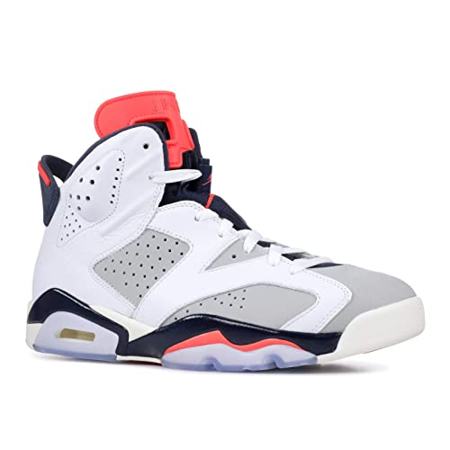 online store a6903 21ddb Nike Jordan Retro 6 - Men s (10, White Infrared 23 Neutral Grey