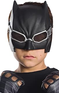 Justice League - Máscara de Batman para niños, infantil talla única (Rubie's 34584)