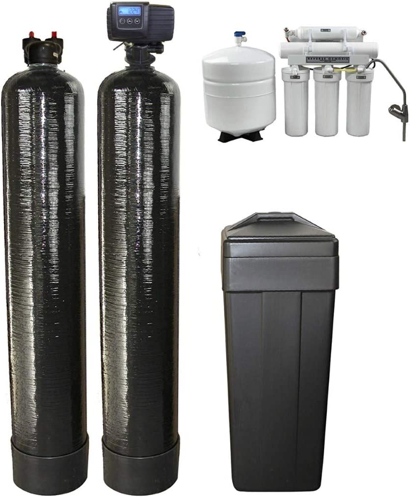 DuraWater Large discharge sale Fleck 5600SXT Metered Softener Car Cubic Ft UpFlow Ranking TOP12 1.0
