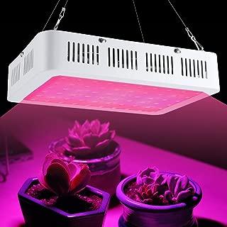Lámpara para plantas LED, lámpara hortícola de crecimiento floración, lámpara Grow Lights Full Spectrum para interiores, plantas y verduras, cultivo hidropónico, germinación AC85-265 V
