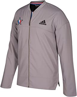 All Star NBA Grey 2017 Official Authentic On-Court Full Zip Jacket for Men
