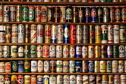 Decorsy Rompecabezas Puzzle 1000 Piezas Adultos Lata De Cerveza Regalos Divertidos De Juguetes Educativos para Niños
